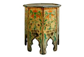Moroccan Side Table Old Moroccan Table Omero Home