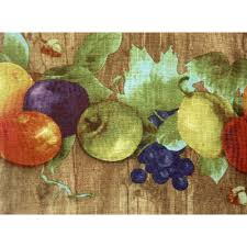 Kitchen Curtains With Fruit Design by Fruits Kitchen Curtain