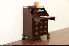 Pine Secretary Desk by Traditional Mahogany Vintage Secretary Desk Carved Shells U0026 Ball