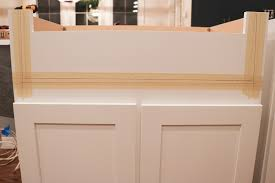 how to install farm sink in cabinet installing a farmhouse sink sincerely d home