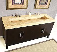 trough sinks48 bathroom vanity with sink double meetly co