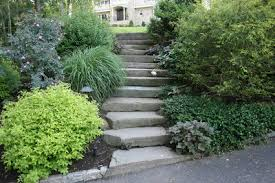 Landscaping Ideas Hillside Backyard Landscape Design Ideas For Sloped Backyard Landscape Design