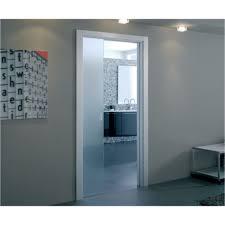 sliding glass doors open both sides eclisse sliding glass pocket door system single door kit