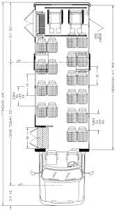 ameritrans 285 shuttle bus floorplans 22passengers 2wc