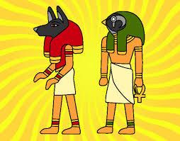 imagenes egipcias para imprimir dibujos de dioses egipcios para colorear dibujos net
