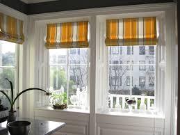 classic window treatment tailored flat roman shades linen www