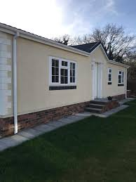 beautiful luxury chalet homes cheshire area in blackpool