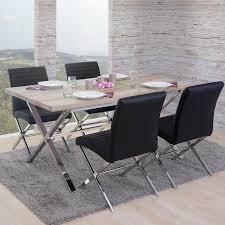 Esszimmerstuhl Palermo Esszimmergarnitur Fano Tisch 4 Stühle Real