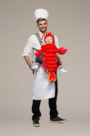 Chef Costume Chef U0026 Lobster Baby Carrier Costume Kit Chasing Fireflies