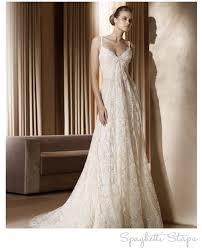 lace spaghetti strap wedding dresses u2013 designers