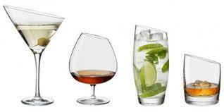 bicchieri design il bicchiere giusto per ogni bevanda