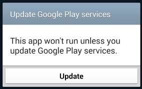 play services apk version android uploading an apk using play services to