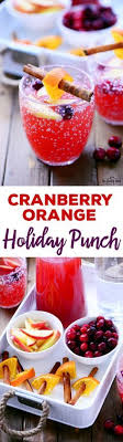this cranberry orange punch recipe is delicious and