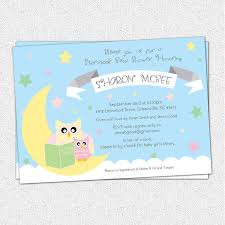 baby shower book theme invitations theruntime