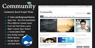 best free and premium drupal themes templates designmodo