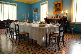Dining Room Floor Room By Room Mansion Of Andrew Jackson The Hermitage