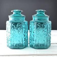 antique kitchen canisters blue ceramic kitchen canisters canisters antique glass canisters