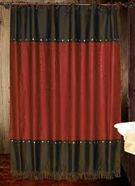 Curtains Black And Red Black And Red Shower Curtains Best 25 Red Shower Curtains Ideas On