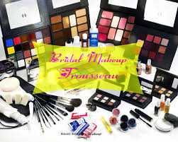 make up prices for wedding bridal makeup trousseau must products in your wedding kit