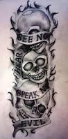 25 beautiful evil skull tattoo ideas on pinterest skull tattoos