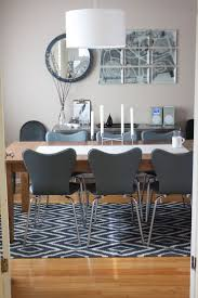 room dining the best glass round table and black chairs rug rugs