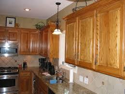 Refinish Oak Kitchen Cabinets by Refinished Oak Kitchen Cabinets Amazing Natural Home Design