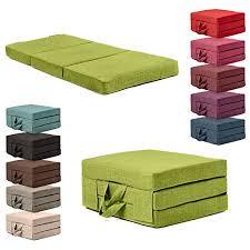 Folding Foam Bed Guest Matress Size 4 Inch Thick Memory Foam Bed Mat
