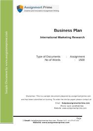 teri e belf coaching resources international business plan