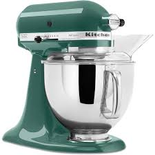 Kitchen Aid Mixers by Shop Kitchenaid Artisan Series 5 Quart 10 Speed Bay Leaf