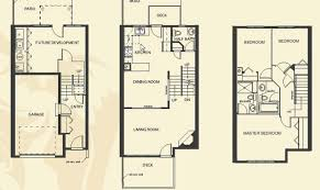 20 Genius Small Townhouse Floor Plans House Plans 9720 Small Town Home Plans