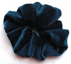 hair scrunchies teal blue velvet hair scrunchy hair scrunchies s boutique