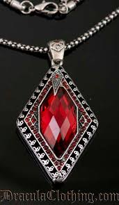 red gothic necklace images Goth jewelry jpg