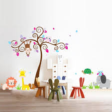 Nursery Monkey Wall Decals Popular Elephant Wall Stickers For Nursery Buy Cheap Elephant Wall
