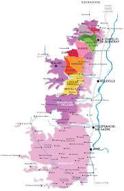 Map Of Burgundy France by What Makes Each Of The 10 Crus Beaujolais Special With Map