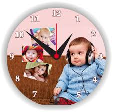 Personalized Picture Clocks Personalized Wood Photo Table Clock At Rs 150 Piece