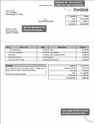 Lawn Maintenance Invoice Template by Gst Invoice Format Pdf Rabitah