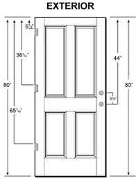 Custom Size Exterior Doors Standard Door Sizes Exterior Gallery Doors Design Ideas Door