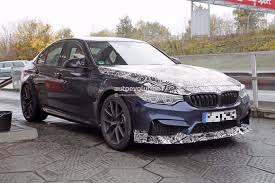 spyshots 2018 bmw m3 cs spied aiming for nurburgring sedan