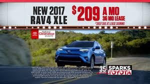 toyota specials sparks toyota national clearance event rav4 u0026 tacoma specials
