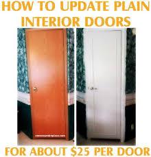 home interior doors how to update plain flat interior doors removeandreplace