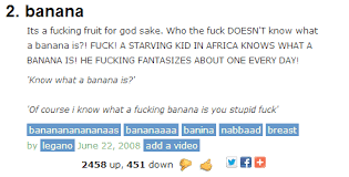 Meme Urban Dictionary - banana according to urban dictionary meme guy