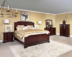 broyhill bedroom set elaina panel bedroom set in rustic cherry