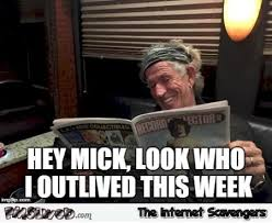 Keith Richards Memes - who has keith richards outlived this week meme pmslweb