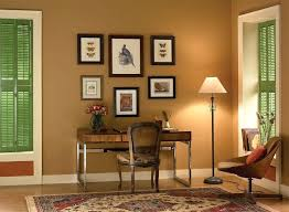 modern interior colors for home modern office paint colors color home office with brown wall color