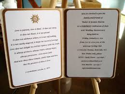 lovely diy 50th wedding anniversary invitations design and style