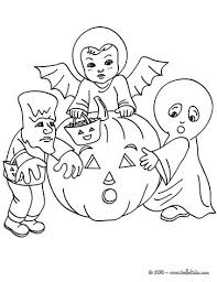 ghost bat frankenstein coloring pages hellokids