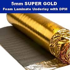 novostrat sonic gold 5mm 5mm gold laminate wood underlay dpm 15m2 flooring trade
