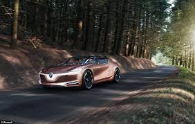 just a car for the renault s new concept car symbioz has armchairs and wifi daily