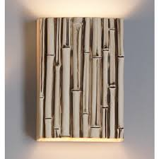 Bamboo Sconce 10