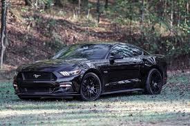 Black 04 Mustang Gt Ford Mustang Gt Shadow Black Gloss Black Forgestar F14 Mesh